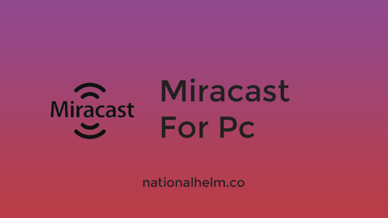 Miracast for pc