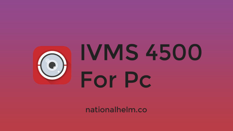 Ivms 4500 For Pc